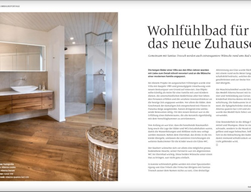 Bericht im Sanitas-Troesch Magazin